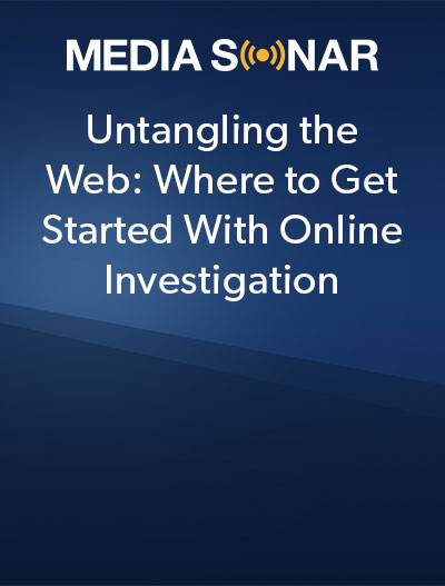 Where to get started with online investigation whitepaper