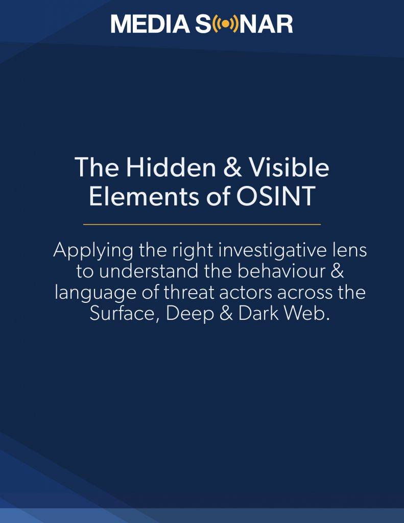 the hidden and visible elements of OSINT