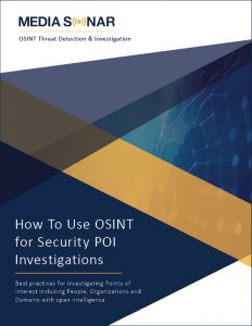 osint for poi investigations