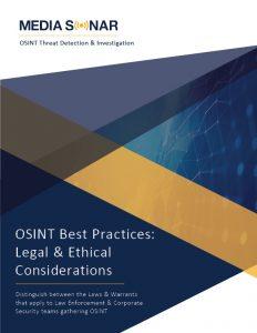 osint best practices legal osint ethical osint