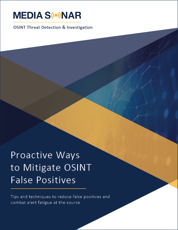 False positive report cover